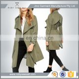 Polular Ladies office wear winter jacket made of soft shell fabric