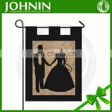 outdoor blanket double sides printing decorative garden wedding flag