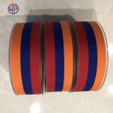 Custom stripe grosgrain ribbon