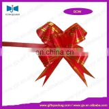 nice decorative red pull bow on holidays