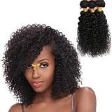 Tangle Free Natural Black Synthetic Hair Wigs 18 Inches Bouncy And Soft Double Drawn