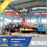 20 inch 16m dredging depth cutter suction dredger for sale