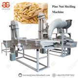 Commercial Use Cedar Nut Processing Shelling Pine Nut Peeling Machine