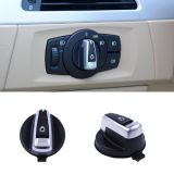 Headlight Lamp Switch Knob Button Cap For BMW 1 3 Series E90 E91 X1 E84 E82 E88 318 320 325 330 335