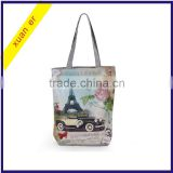 New Arrival European Style Fashion Printing Canvas Women's Handbag from china supplier