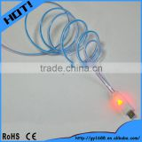 High speed led USB data transfer charging cable 1m                                                                         Quality Choice