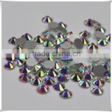 Nail Art rhinestones crystals AB clour silver flatback non hot fix rhinestones for DIY Nails decoration