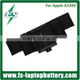 "Genuine Original Battery for A1494 Lithium ion Laptop battery for Apple Macbook Pro 15"" A1398 Retina Late 2013 & Mid 2014 ME293"