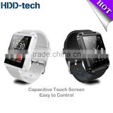 Bluetooth smart watch Uwatch U8 fashionable wrist watch smart phone watch for android phone