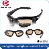 Hot dustproof interchangeable safety sports glasses war game bulletproof military goggles for tactical
