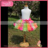 Plus size tutu skirt, girls rainbow tutu skirt wholesale, designer girls short skirts                                                                         Quality Choice