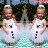 white angel kids dress AG-CD0019