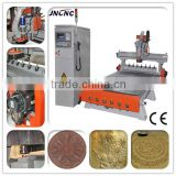 Vacuum Working Table Door CNC Router Wood Engraving