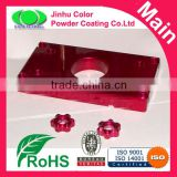 Candy color powder coating paints