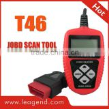High-quality OBD2/EOBD JOBD auto engine analyzer /Portable Fault Code Reader T46-View freeze frame data,Updateable online