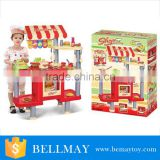 Luxurious wholesale educational kids toys kitchen tool cooking set play toys for girl
