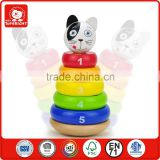 18 months amusing hot sell toys swing 6 different size of the cognitive different colour cognition wooden kids educational toys