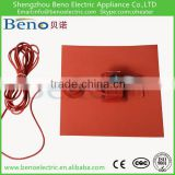 High Power Machinery Temperature Control Thermostat Silicone rubber Heater Pad