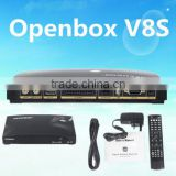 Original Openbox V8S HD Satellite Receiver Decoder Openbox v8 Combo S V8 DVB S2 Openbox V8S 600 MHZ Support USB WIFI WEB TV