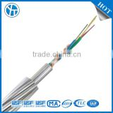 24/48/96/288 core fibres OPGW optical cable aluminum cald stainless steel wire cheap price