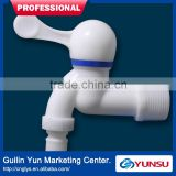 YunSu K04A Plastic Ceramic Cartridge Faucet Water Tap With Connection And Longer Inlet DN15 Blue