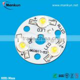 professional PCB factory PCB assembly high power led chip pcb circuit board for track light/commercial light