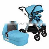 2016 High Quality Best Seller New Design Europen Style Sports Baby Trolley 3 in 1 with Carry Cot