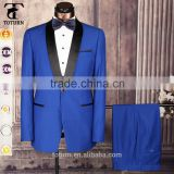 High Quality High-end Italian Style Direct Manufacturer OEM One Button Formal Wear Two Pieces Wedding Dress Suits For Men                                                                         Quality Choice