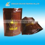 High quality stand-up coffee bag,valved coffee bean bag,food bags for coffee