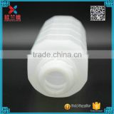 600ml big volume cylinder HDPE plastic milk bottle wholesale
