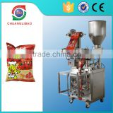 Low Price Wholesale Fashionable Quad-seal Stand up pack type 4 side sealing Automatic Snacks Food Low Cost Pouch Packing Machine