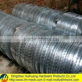 Low price galvanized concertina razor barbed wire-(Manufacturer&Exporter)-Huihuang factory