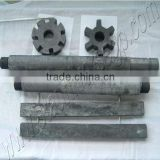 ISO Quality Degassing Unit Graphite Rotor and shaft