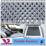 Bamboo Charcoal Polyester 3D Spacer Mesh Fabric
