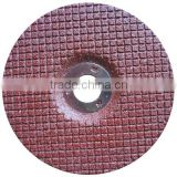 433 RED Flexible grinding disc in WHITE ALUMINIUM OXIDE for STAINLESS STEEL