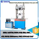 Deformed Steel Bar Tension Compression Bending Testing Machine 2000kN Computerized Electro-hydraulic