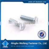 Hot zinc/black plated heavy duty window spring bolt high quality box packed ningbo fastener manufacturers