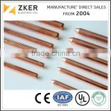 Lightning Protection System Material Copper Bonded Ground Rod Manufacture