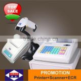 electronic cash register with built-in printer, for small shops or restaurantes, X-3100, Heshi Office, Aibao brand