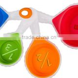 4 Piece Collapsible Silicone Measuring Cups Set