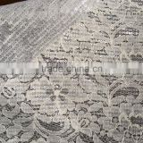 Cotton lace mesh bonded with sequin fabric, african cotton cord lace fabric ,embroidery lace and mesh fabric
