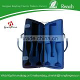 Nice quality champagne eva wine carry cases