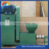 High Quality Charcoal Powder Briquette Screw Machine/Charcoal Rod Machine 0086 15238378335