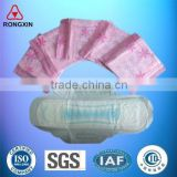 2016 hot sale brands name disposable super absorbent lady sanitary napkin manufacturer