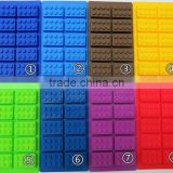 Buliding Brick Block Candy Jello Silicone Ice Cube Tray Chocolates Silicone Baking Molds for Lego Lovers