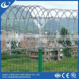 Anping factory direct supply electronic galvanized razor barbed wire for border protection