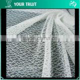 Innovative Mesh Lace 148 Centimeter Wedding Veil/Garment 15% Silver Metallic 85% Nylon Fabric
