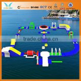 Inflatable water city for commercial