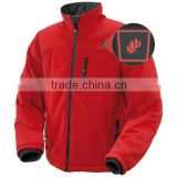 winter waterproof snow ski warm outdoor jacket / battery heated body warmer