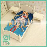 factory fashion fabric sheets sheet bed video games anime custom bed sheet Sailor Moon Tsukino Usagi
